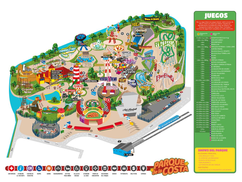 Parque de la costa for Para desarrollar un parque ajardinado