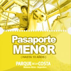 Pasaporte MENOR